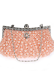 L.WEST Woman's ring dinner pearl bag hand bag late outfit bag bag gowns bag