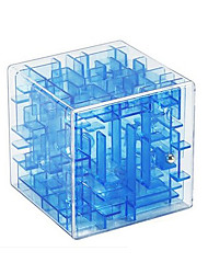Toys Smooth Speed Cube Novelty Stress Relievers Transparent Green Blue Yellow Smooth Sticker / Plastic