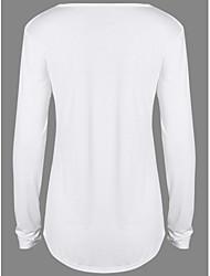Aliexpress европейский стиль шифон шить свободно с длинным рукавом женская поддержка рубашка внешней торговли женщин