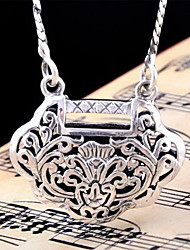 Pendant Necklaces Jewelry Geometric Sterling Silver Dangling Style Geometric Fashion Silver Jewelry For Birthday Daily Christmas Gifts 1pc