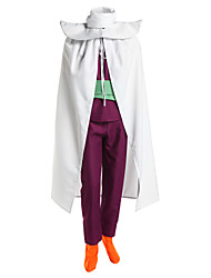 Inspired by Dragon Ball Son Gohan Anime Cosplay Costumes Cosplay Suits Patchwork White / Purple SleevelessCloak / Vest / Pants / Scarf /