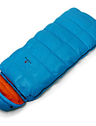 Sleeping Bag Rectangular Bag Single -25 -12 0 Duck Down85 Camping OutdoorMoistureproof/Moisture Permeability Waterproof Breathability