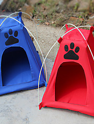 Pet Dog Pet Nest With Mat Tent