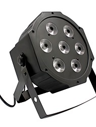 U'King® 7 RGB Leds 80W Stage Effect Par Light Stage Lighting Automatic Strobe Voice DMX Control 1pcs
