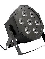 U'king® 7 rgb светодиоды 80w эффект сцены par light stage автоматическое управление стробоскопом dmx control 1pcs