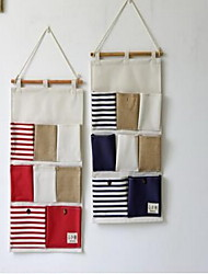 Storage Bags Textile withFeature is Open  For Cloth Multi-layer Wall Hanging Bag