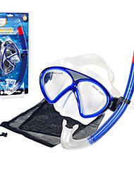Diving Masks Swimming Goggles NO TOOLS Required Diving / Snorkeling PVC Red Blue