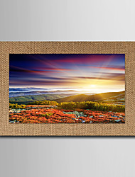 Художественная печать Известные картины Пейзаж Modern Классика,1 панель Горизонтальная Панорамный Печать Искусство Декор стены For