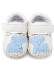 Bebé-Tacón Plano-Primeros Pasos Zapatos de Cuna-Bailarinas-Informal-Semicuero