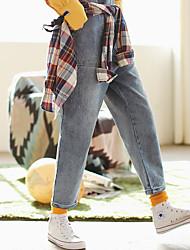 viel Gold präzise japanischen Pavillon Strapsen Jeanshosen weibliche koreanische Version war dünn dünne Hosen zu schaffen