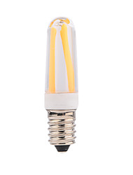 4W E14 LED Glühlampen T 4 COB 400 lm Warmes Weiß Kühles Weiß Dimmbar V 1 Stück