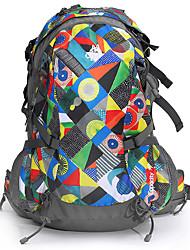 32 L Hiking & Backpacking Pack Camping & Hiking Climbing Leisure Sports Traveling Performance Leisure SportsWaterproof Rain-Proof