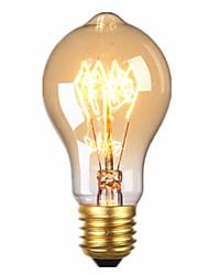 220V E27 60W Straight Wire Love Special Decorative Retro Light Source 1PCS