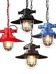 40 Lampe suspendue ,  Contemporain Traditionnel/Classique Rustique Lanterne Globe Retro Autres Fonctionnalité for Style mini MétalSalle
