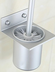 Space Aluminum Cup Toilet Brush Set Toilet Brushes & Holders