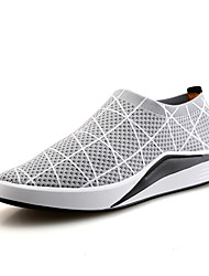 Men's Loafers & Slip-Ons Summer Fall Light Soles Tulle Outdoor Athletic Casual Low Heel Running