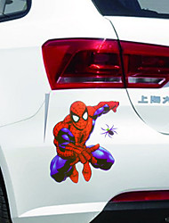 New Reflective Waterproof Cool Funny Personality Spider-man Classic Cartoon Car Sticker