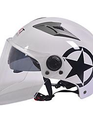 GXT M11 motocykl poloviny helma dual-objektiv harley ochranu proti slunečnímu záření helma léto unisex vhodné pro 55-61cm s dlouhou