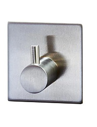 Strong Door Coat  Hook / BrushedStainless Steel /Contemporary