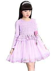 Girl's Beach Dress,Cotton Rayon Summer Sleeveless