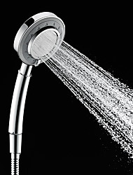 Three Function Massaging Hand Shower Chrome Feature for  Rainfall  Shower Head