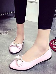Women's Shoes Libo New Style Hot Sale Party / Wedding Pink / Black /White Fashion Comfort Flats