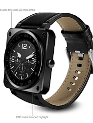 Bluetooth Smart Watch Extreme Thin Business Leather Band Full HD IPS Screen Fully Compaticable Sport Smartwatch
