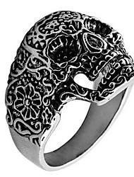 Ringe Alltag Normal Schmuck Aleación Ring 1 Stück,18 19 20 Silber