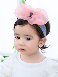 Kid's Cute Baby  Knitting Turban Pink Butterfly Section Headbands