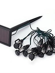 пони пластика черного цвета теплый белый свет струнные светильники