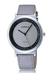 Fashion Watch / Quartz Leather Band Casual Brown Grey