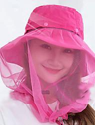 Women's Breathable Soft Comfortable Sunscreen Nylon Tactel Fishing Leisure Sports Slim White Red Gray Black Blue