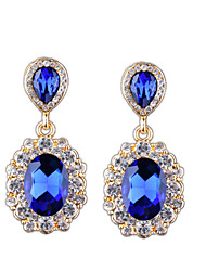 The New Fashion In Europe And America Big Diamond Earrings