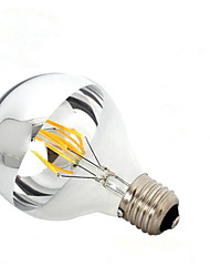 6W B22 E26/E27 Ampoules à Filament LED G95 6 COB 600 lm Blanc Chaud Gradable AC 100-240 AC 110-130 V 1 pièce