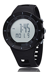 Leisure Sports Waterproof Import Mmovement Electronic LCD Screen Watch