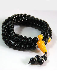 Bracelet Wrap Bracelet Agate Others Fashion Party Special Occasion Gift Jewelry Gift Black,1pc