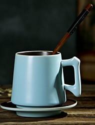Minimalismo Artigos para Bebida, 350 ml Dom namorado presente namorada Cerâmica Café Canecas de Café