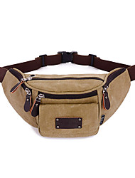 Unisex Canvas Formal Sports Casual Outdoor Office & Career Professioanl Use Waist Bag
