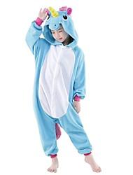 Kigurumi Pijamas Unicorn Leotardo/Pijama Mono Festival/Celebración Ropa de Noche de los Animales Halloween RetazosDisfraces de Cosplay