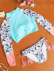 Sportif Femme Combinaison de plongée Respirable Spandex Tenue de plongée Sans manche Maillots de Bain Combinaisons-Natation Plongée