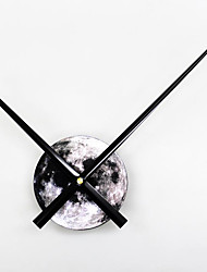 Modern/Contemporary Diy Fashion Ideas Planet Moon Houses Wall ClockNovelty Acrylic 9*31 Indoor Clock