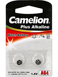 Camelion AG4 монета&клетка кнопки щелочные батареи 1.5V 2 шт