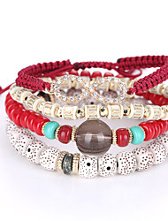 Women's Diamond Bracelet European And American Fashion Glasses Cute Bracelet Multilayer Hand String