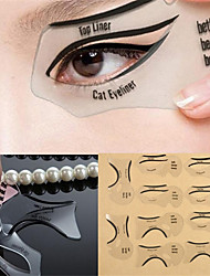 Smokey-Eye Make-Up Beauty Painting Eyeliner Eye Tool Beauty Card 10 OPP Bag