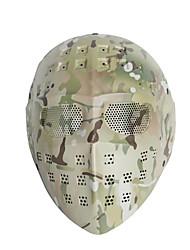 borracha / aço de proteção de caça unisex / wearproof equipamentos de proteção