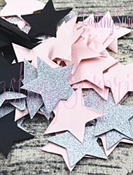 Star Round Glitter Paper Confetti Table Decoration Mariage baby shower Favors Colourful Wedding Birthday Party