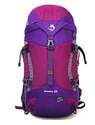 45 L Заплечный рюкзак Водонепроницаемый Дожденепроницаемый Водонепроницаемая застежка-молния Защита от пыли УдаропрочностьЗеленый Серый
