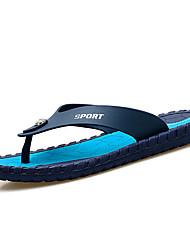 Men's Slippers & Flip-Flops Summer Light Soles Microfibre Leather Outdoor Flat Heel