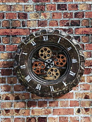 Wall Decor Iron Retro Wall Art Tire Wall Decoration