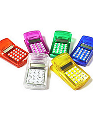 Unique Mini Multi Function File Clip Calculator (Random Color)